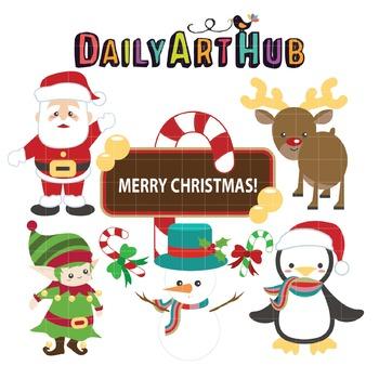 christmas clip art great for art class projects by daily art hub teachers pay teachers