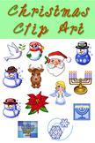 Christmas Clip Art Icons