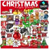 Christmas Clip Art Mega Pack {Educlips Clipart}