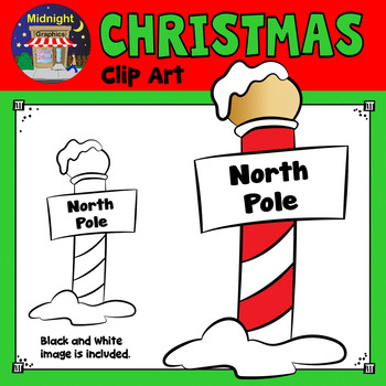 Christmas Clip Art - North Pole