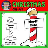 Christmas Clip Art - North Pole