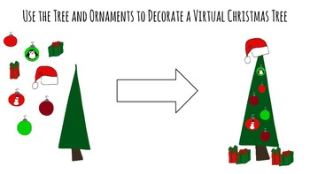 Christmas Clip Art.. Penguins, Christmas Trees, and Presents!