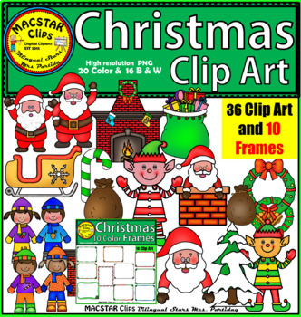 Christmas Clip Art  Personal and Commercial Use