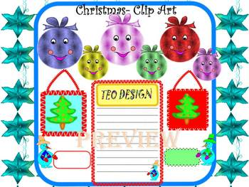 Winter Activities - Writing - Clip Art