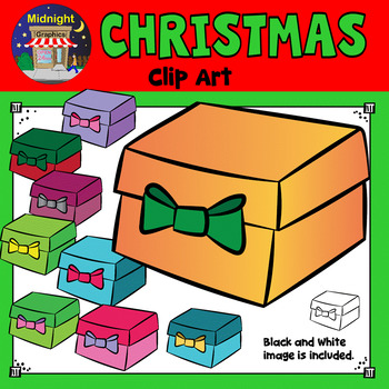 Christmas Clip Art - Presents - Gifts