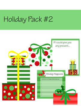 Christmas Clip Art:  Presents and Papers