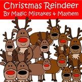 Christmas Clip Art- Reindee