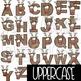 Alphabet Letters Clip Art - Reindeer Letters {jen hart Clip Art}