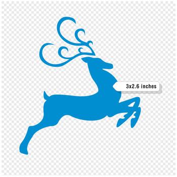 Christmas Clip Art / Reindeer Clip Art - A90005