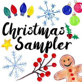 Christmas Clip Art Sampler