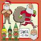 Christmas Clip Art: Santa, Stocking Stuffers, Toys + Elves!