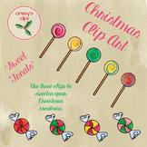 "Christmas Clip Art ""Sweet Treats"""