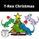 Christmas Clip Art T-REX