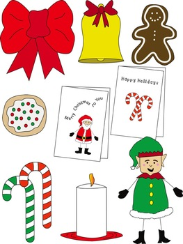 Christmas Clip Art Value Set (51 Pieces in All) Commercial & Personal Use