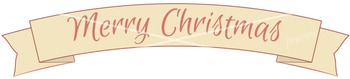 Christmas Banners Clip Art