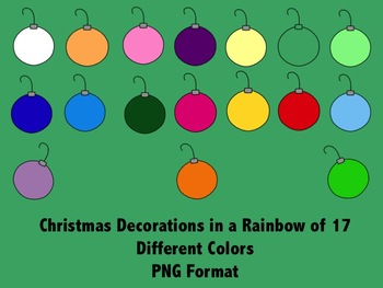 Christmas Clip Art in PNG Format