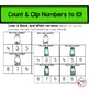 Christmas Clip Cards- Counting and Numbers