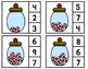 Christmas Count and Clip It Cards 1-20