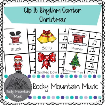 Christmas Clip It Rhythm Center