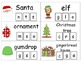 Christmas Clip & Learn Beginning Sounds