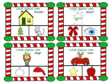 Christmas Clip a Rhyme