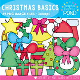 Christmas Basics Clipart Set