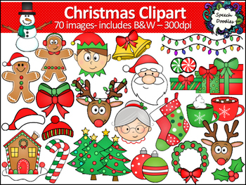 Christmas Clipart - 70 images!