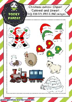 Christmas Clipart - Bundle