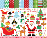 Christmas Clipart Christmas Santa Claus Clip art images Di