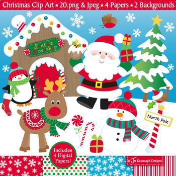 Christmas Holidays Clipart.Christmas Clipart Christmas Theme Clip Art Holidays Clipart Santa C4