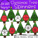 Christmas Clipart - Christmas Tree Math Spinners {Jen Hart