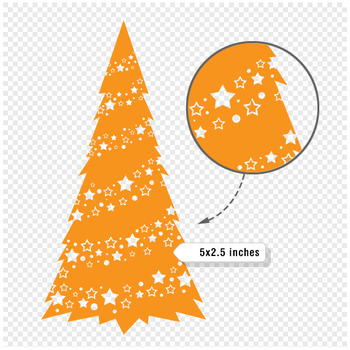 Christmas Clip Art / Christmas Tree Clip Art - A90001