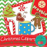 Christmas Cookies & Other Yummies- Christmas Clip Art - FR