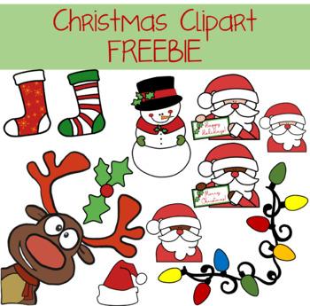 Christmas Clipart FREEBIE