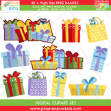 Gift and Bags Clipart