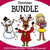 Christmas Clip Art Bundle by Jeanette Baker