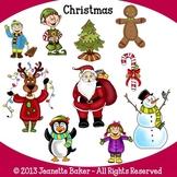 Christmas Clip Art by Jeanette Baker