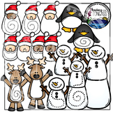 Interactive Christmas Clipart (Pokey Pin Clipart)