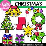 Christmas Clipart {Lidia Barbosa Clipart}