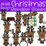 Christmas Clipart - Reindeer Clipart {Jen Hart Clipart}