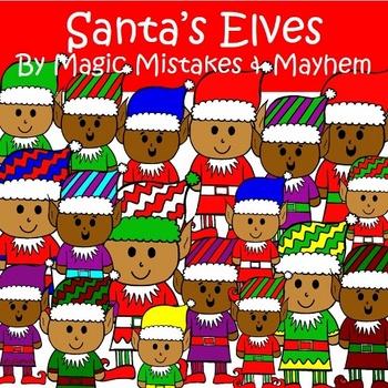 Christmas Clipart Santa's Elve