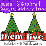 Christmas Clipart - Second Sight Word Clip Art  {Jen Hart