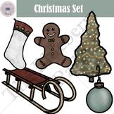 Christmas Clipart Set (FREE)