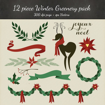 Christmas Clipart - Holiday PNG & Vectors