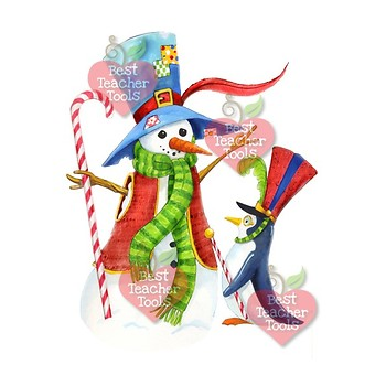 Christmas Clipart Watercolor, Christmas Reindeer, Christmas Elements, 2 AMB-1470