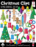 Christmas Clips Clipart ~ Commercial Use ~ Holiday ~ Trees