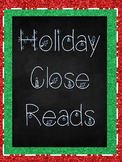 Christmas Close Read 5 Story Bundle FSA Question Stems