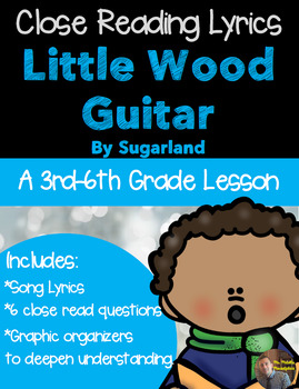 Christmas Close Read- Little Wood Guitar by Sugarland- {CC