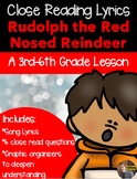 Christmas Close Read- Rudolph the Red Nosed Reindeer -{CC aligned}
