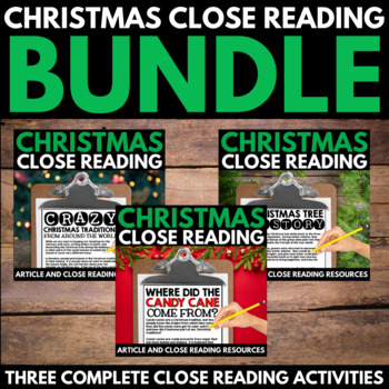 Christmas Close Reading